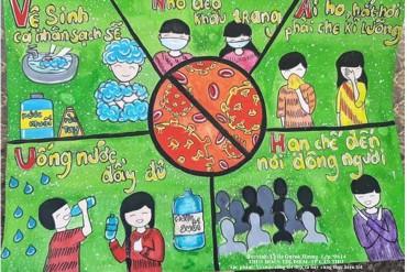 Phát động cuộc thi vẽ tranh về bảo vệ sức khỏe và phòng chống dịch Covid-19
