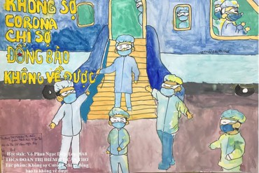 """Cuộc thi vẽ tranh """"Bảo vệ sức khỏe và phòng chống dịch bệnh Covid-19"""""""